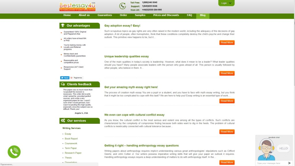 Bestessay4u.com review design
