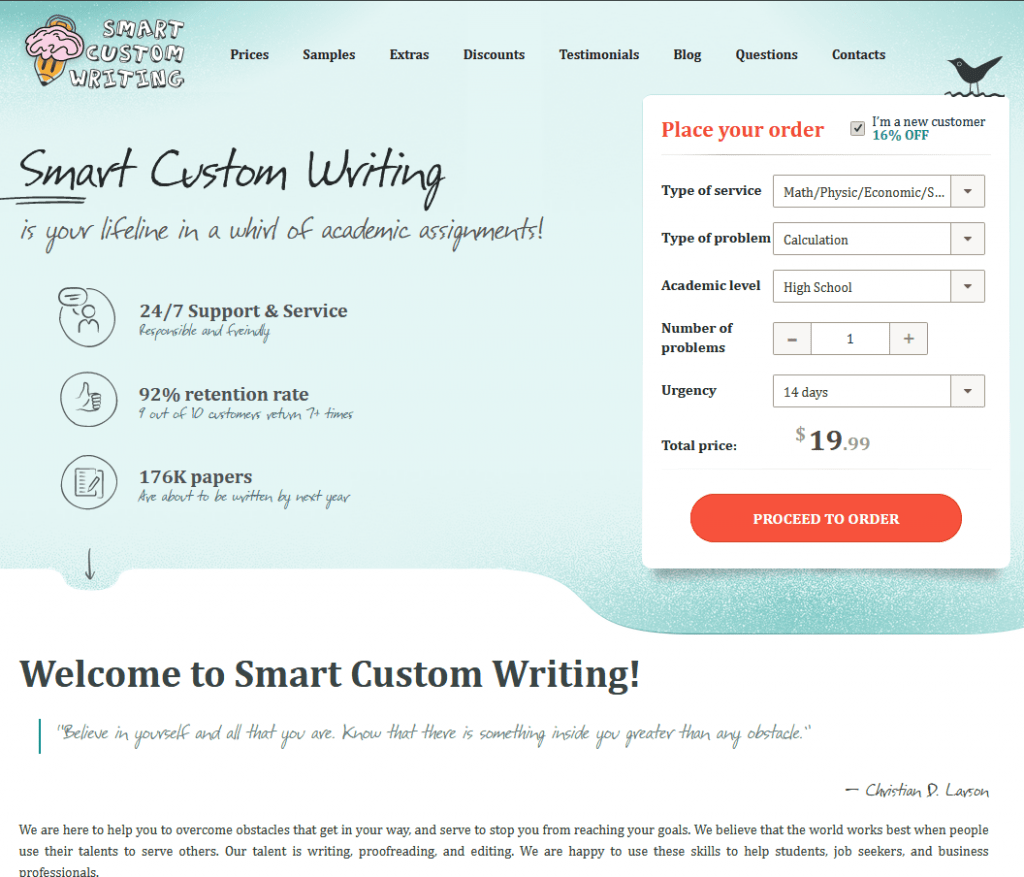 Custom writings review